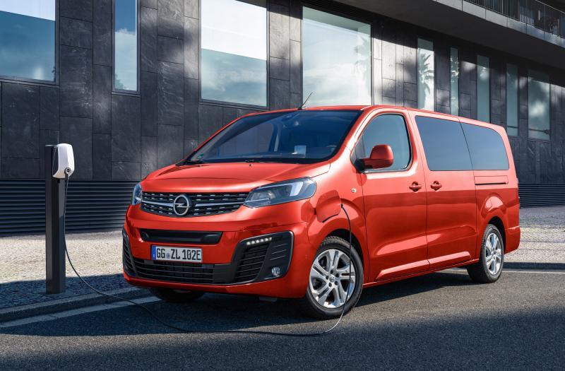 Bild von Opel Zafira-e Life