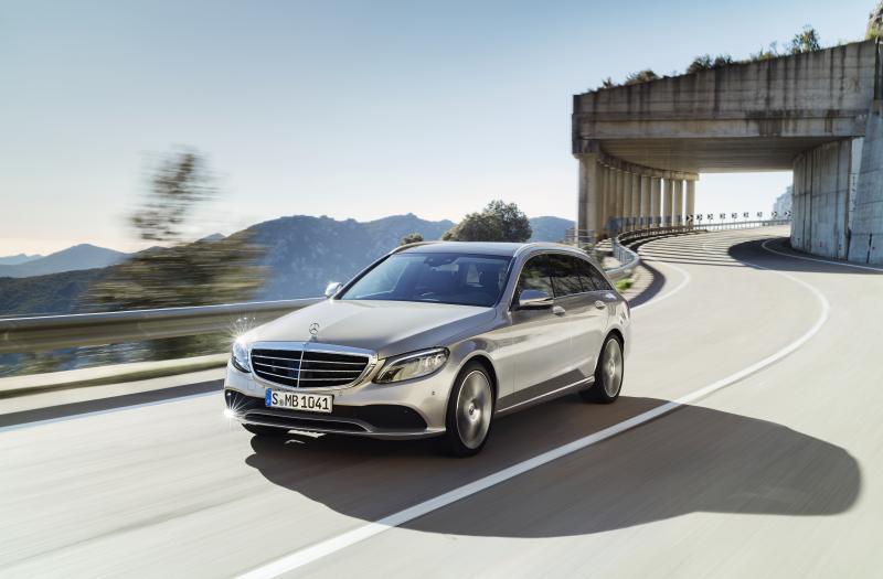 Bild von Mercedes C T-Modell