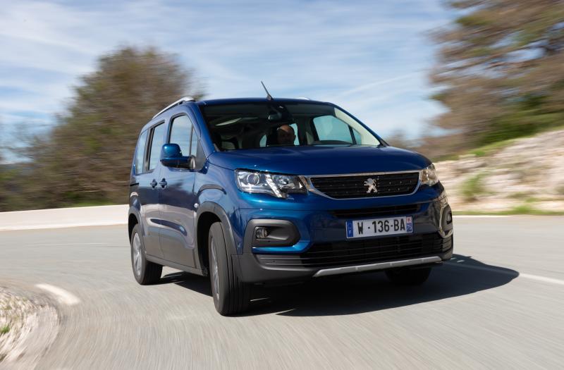 Bild von Peugeot Rifter XL Elektro