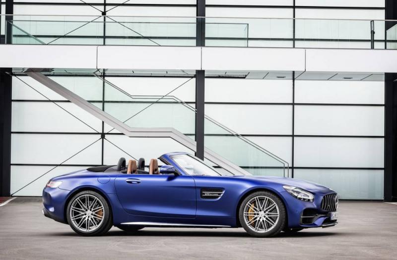 Bild von Mercedes AMG GT Roads.
