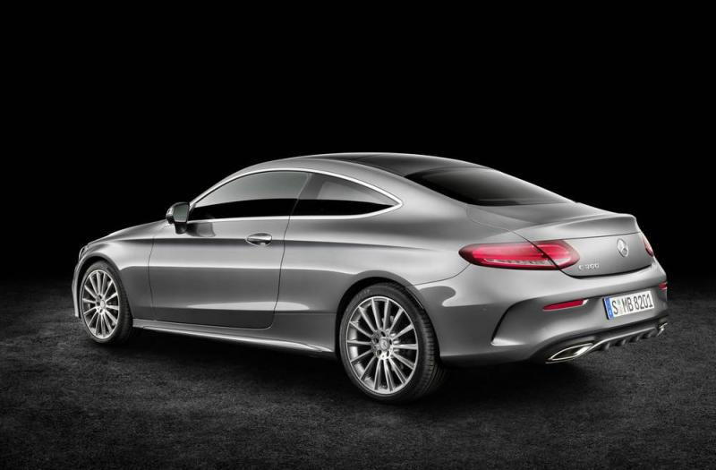 Bild von Mercedes C Coupe
