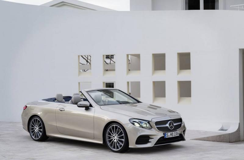 Bild von Mercedes E Cabrio