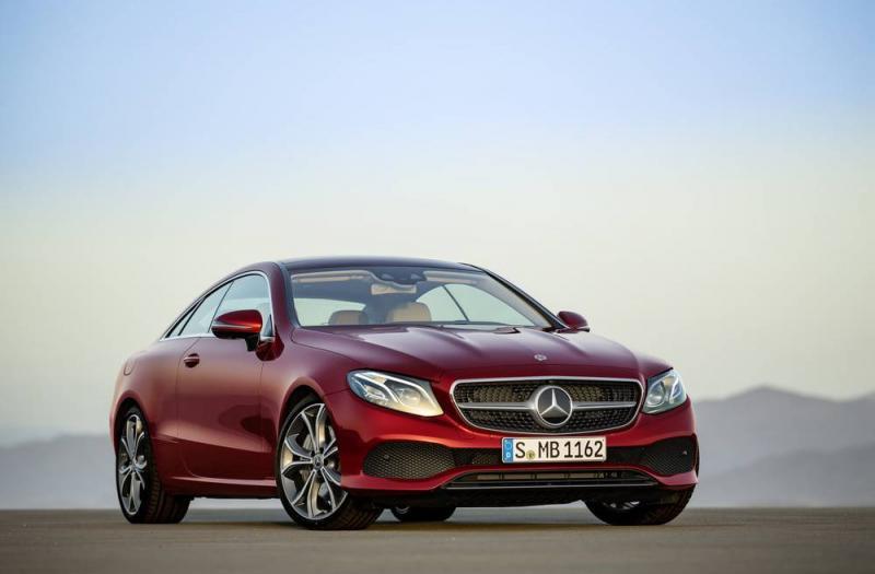 Bild von Mercedes E Coupe