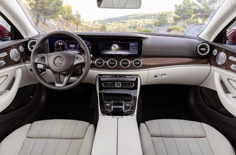 Mercedes E Coupe