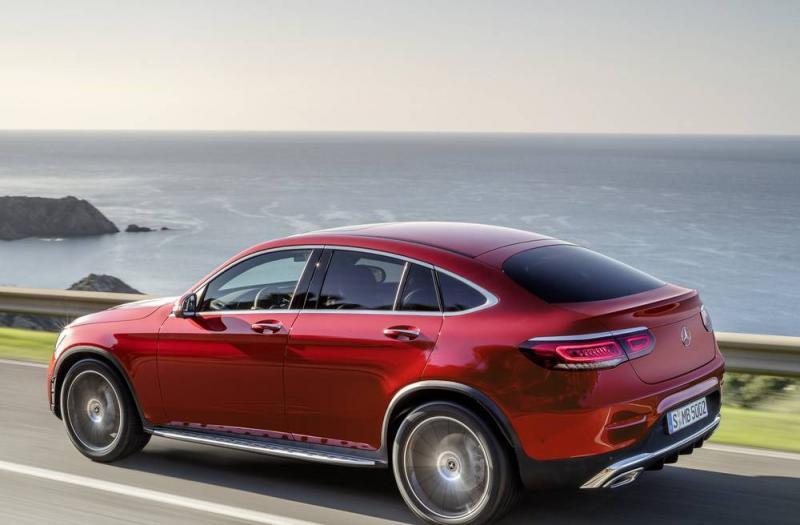 Bild von Mercedes GLC Coupe
