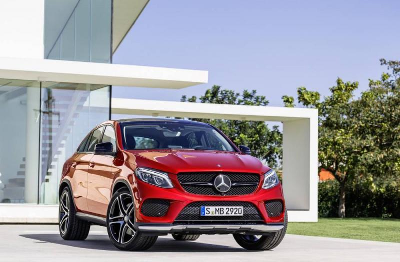 Bild von Mercedes GLE Coupe