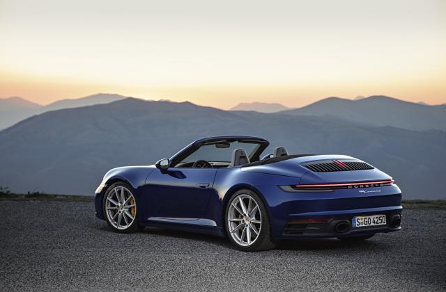 Foto von Porsche 911 Cabrio
