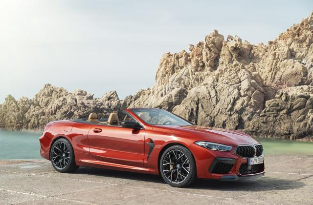 Foto von BMW M8 Cabrio