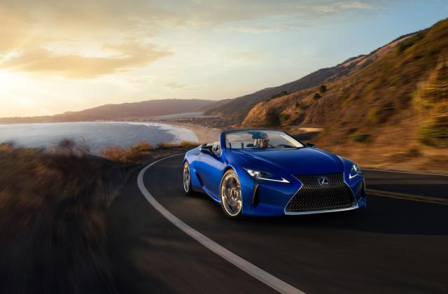 Foto von Lexus LC Cabrio