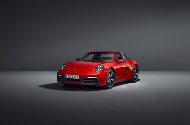 Foto von Porsche 911 Targa 4
