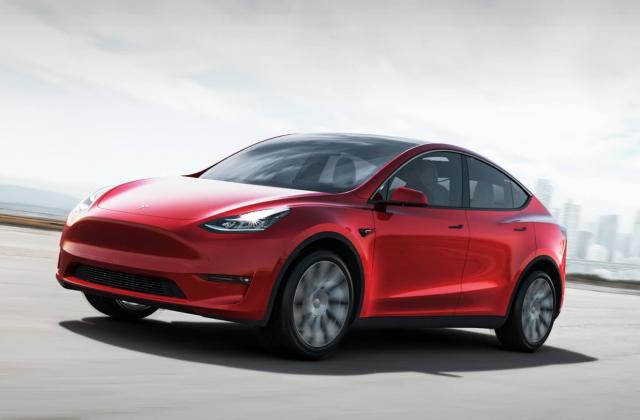 Foto von Tesla Model Y