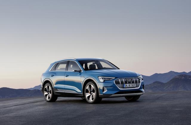 Foto von Audi e-tron