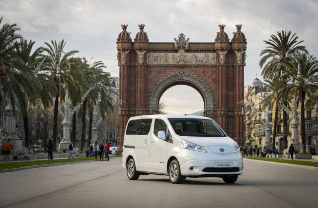 Foto von Nissan E-NV200 Evalia