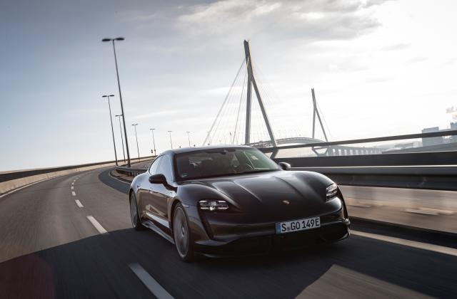 Foto von Porsche Taycan
