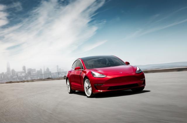 Foto von Tesla Model 3
