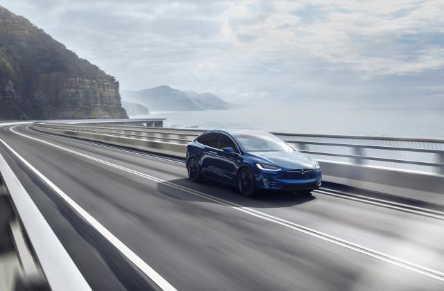 Foto von Tesla Model X