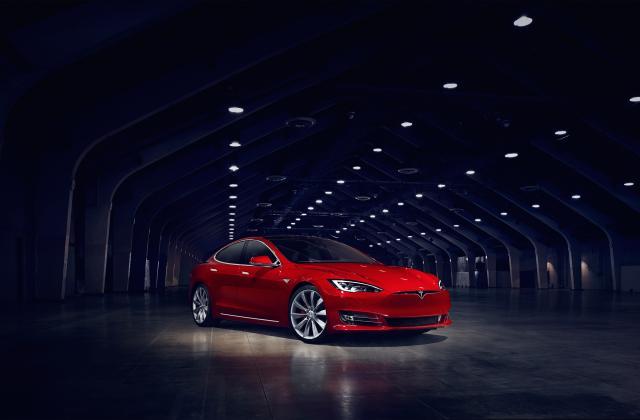 Foto von Tesla Model S