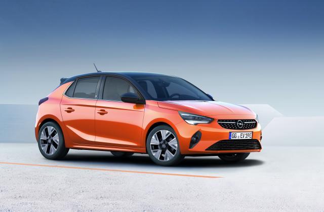 Foto von Opel Corsa Elektro