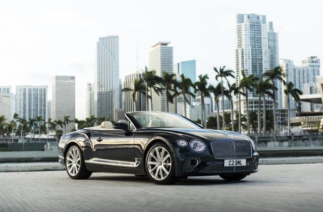 Foto von Bentley Continental Cabrio
