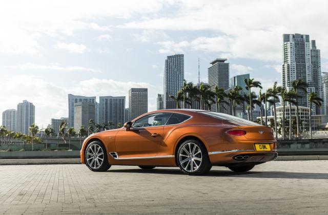 Foto von Bentley Continental