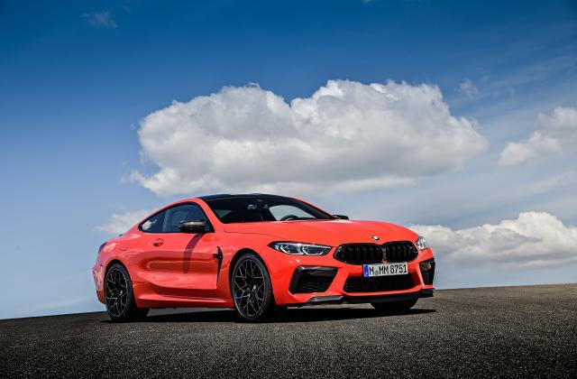 Foto von BMW M8