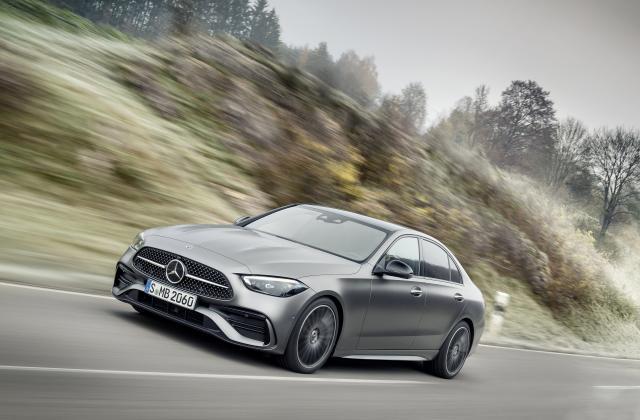 Foto von Mercedes C Limousine