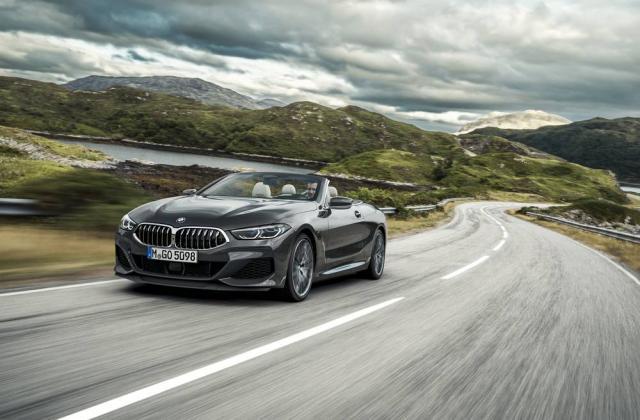 Foto von BMW 8er Cabrio