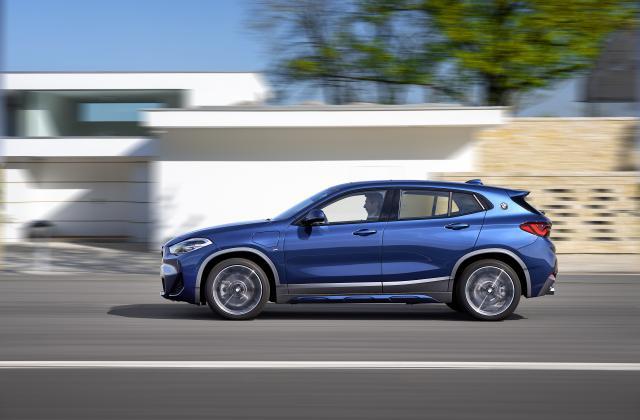 Foto von BMW X2