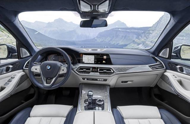 Foto von BMW X7