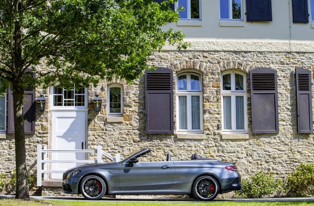 Foto von Mercedes C Cabrio