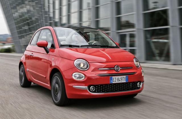 Foto von Fiat 500 Cabrio