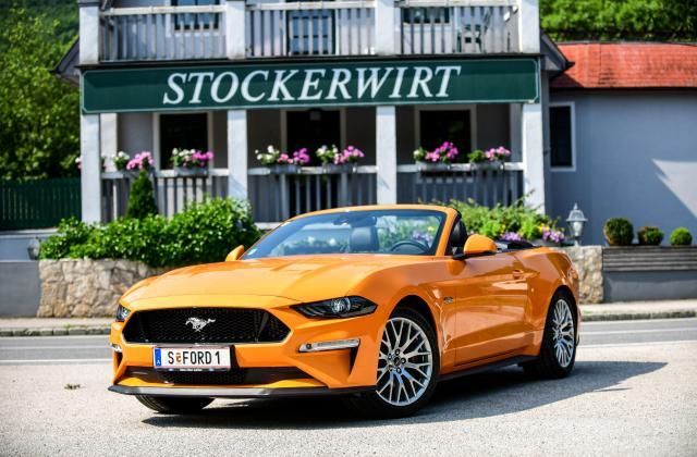 Foto von Ford Mustang Cabrio