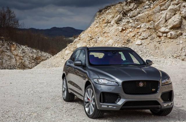 Foto von Jaguar F-Pace