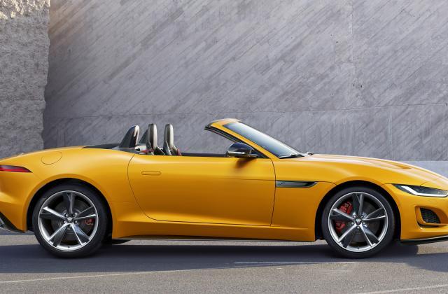 Foto von Jaguar F-Type Cabrio
