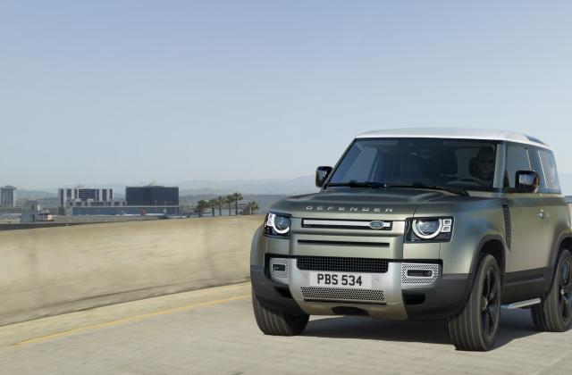 Foto von Land Rover Defender